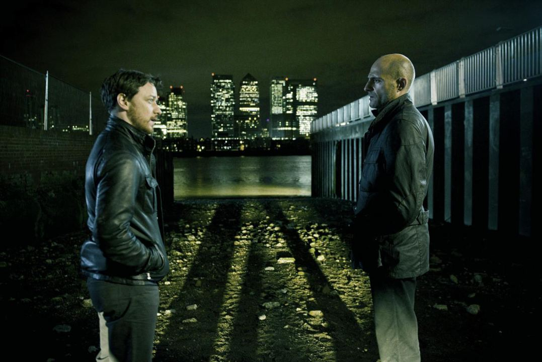 Enemies - Welcome to the Punch: Mark Strong, James McAvoy