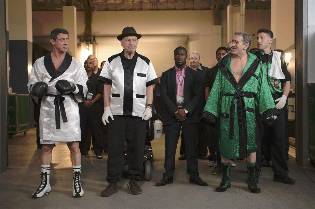 Zwei vom alten Schlag : Bild Alan Arkin, Jon Bernthal, Kevin Hart, Robert De Niro, Sylvester Stallone
